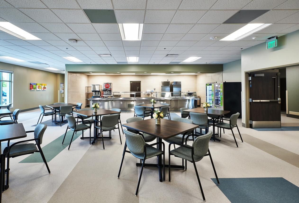 University of Iowa Health Network + Encompass Health Rehabilitation Hospital in Coralville Iowa
