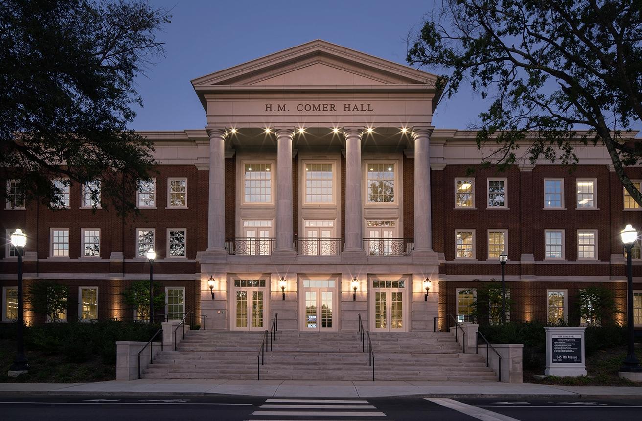 H.M. Comer Hall at The University of Alabama – Tuscaloosa, AL – KPS Group Inc. Architecture & Interior Design