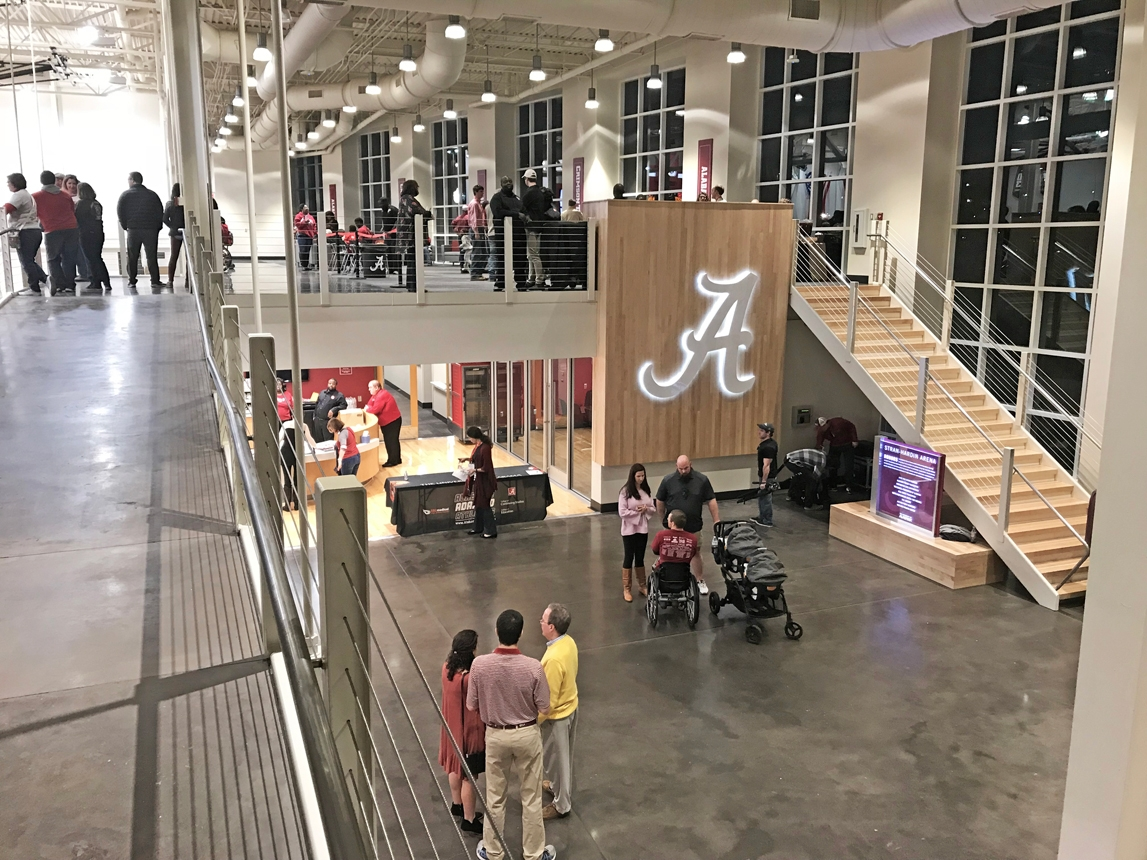 Stran-Hardin Arena for Adapted Athletics at University of Alabama