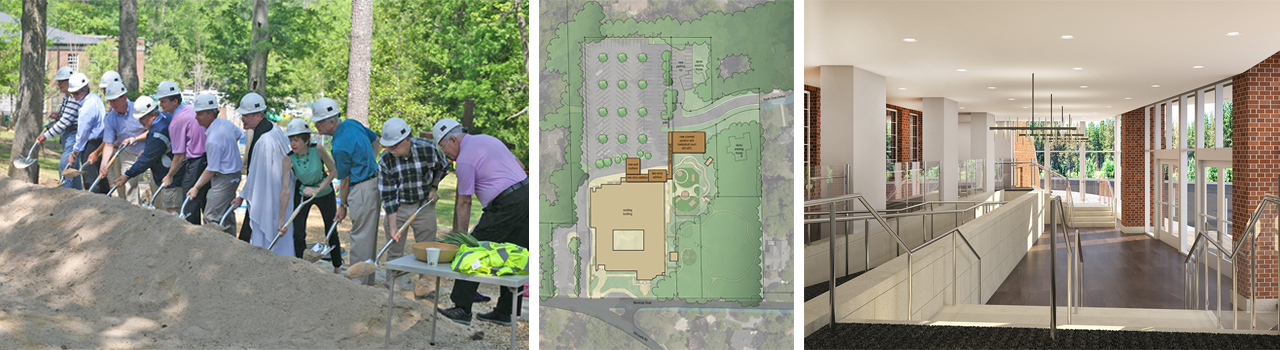 St. Luke's Episcopal Church – Birmingham AL: Groundbreaking, Site Plan, & Entry/Gathering Space