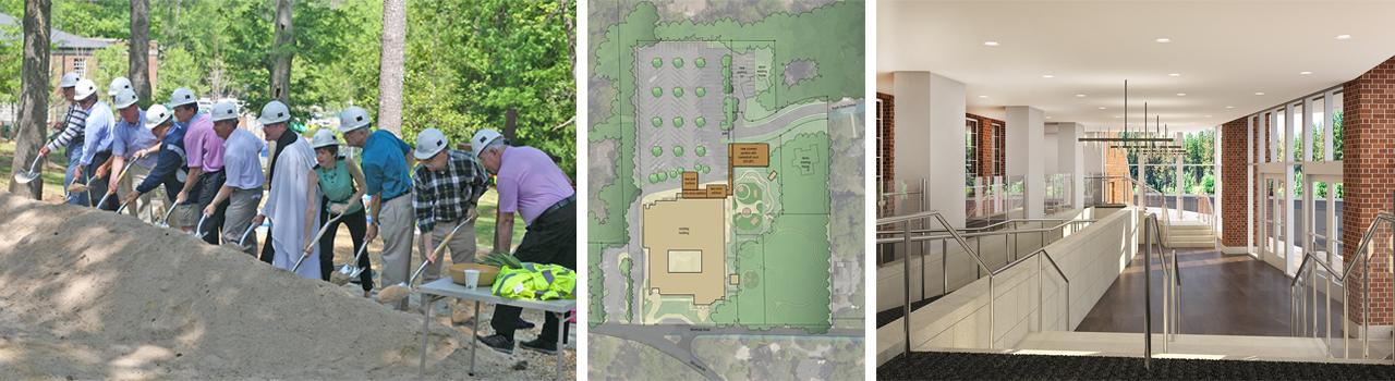 St. Luke's Episcopal Church – Birmingham AL: Groundbreaking, Site Plan, & Entry/Gathering Space