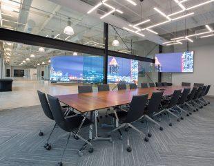 New headquarters of the Economic Development Partnership of Alabama / EDPA in Birmingham; architecture – interior design by KPS Group Inc