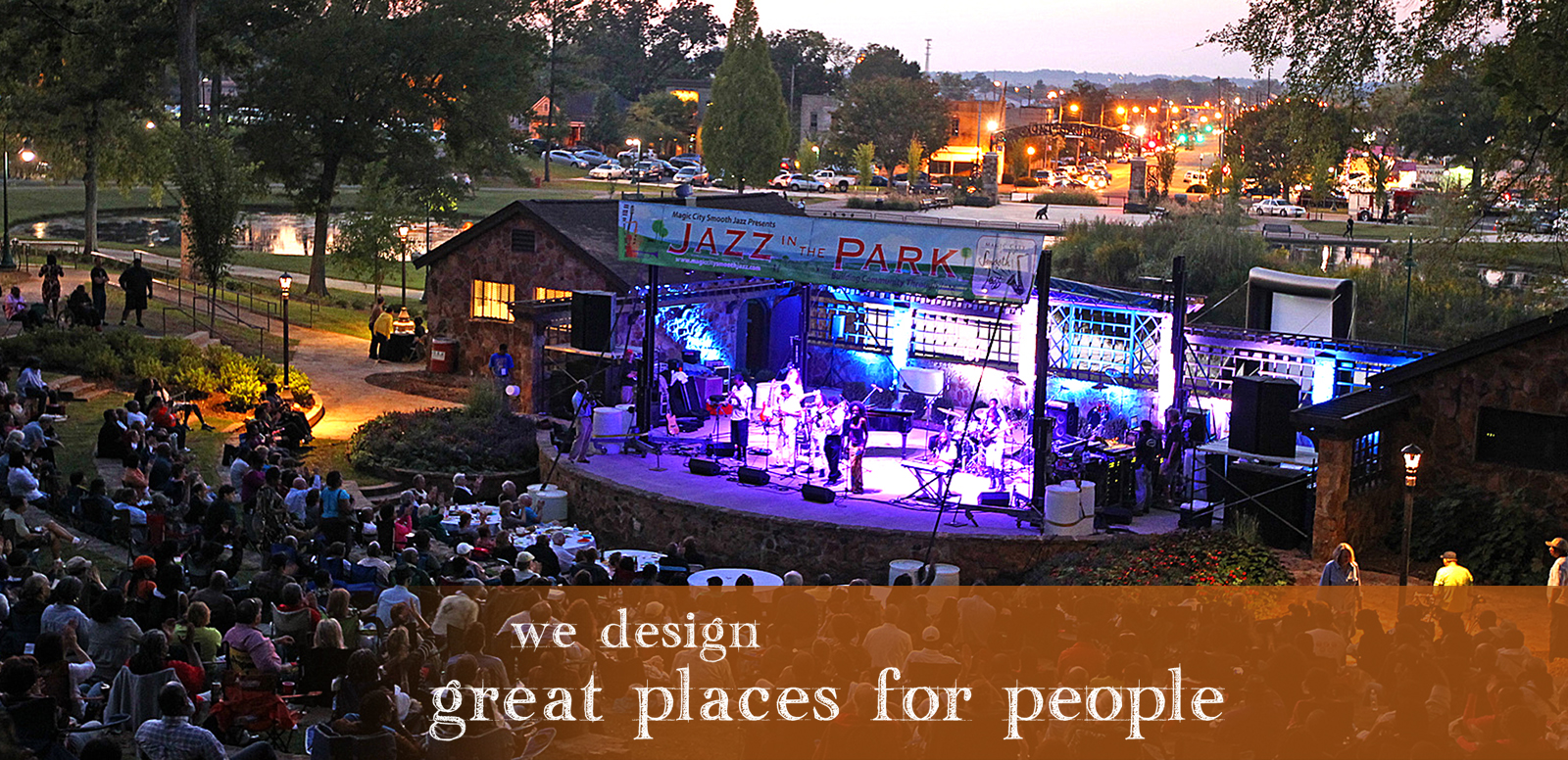 Our Work: We design great places for people