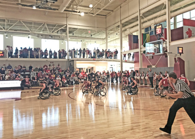 Stran-Hardin Arena for Adapted Athletics at the University of Alabama