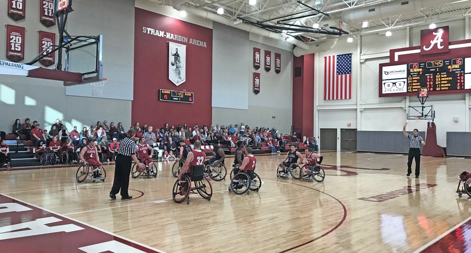 Stran Hardin Arena for Adapted Athletics at University of Alabama