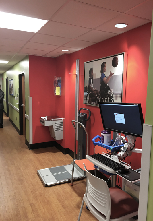 Children's at Lakeshore clinic space
