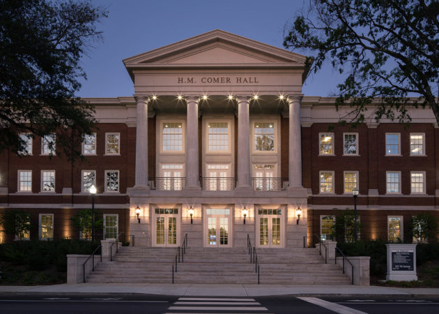 H.M. Comer Hall at the University of Alabama