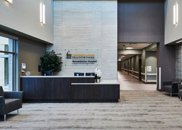 University of Iowa Health Network + Encompass Health Coralville Rehabilitation Hospital