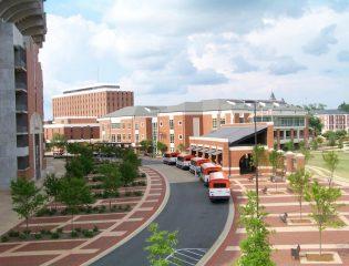Campus Green + Main Transit Pavilion at Auburn University